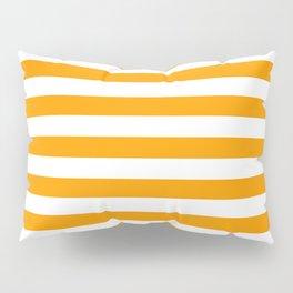 Mango Mojito Beach Hut Horizontal Stripe Fall Fashion Pillow Sham