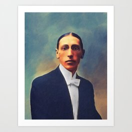 Igor Stravinsky, Music Legend Art Print