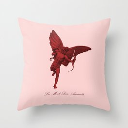 La Mort Des Amants (The Death of Lovers) Throw Pillow