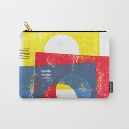 Basic in red, yellow and blue Carry-All Pouch