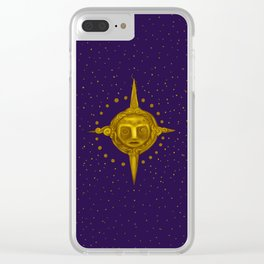 My sun p Clear iPhone Case