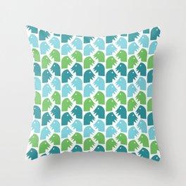 Texture Experiments #2 Throw Pillow