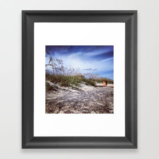 Charleston Dunes Framed Art Print