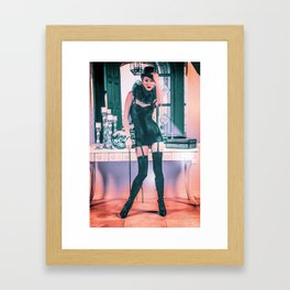 5024 Lady Mistress Natasha Framed Art Print
