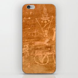 Sego Canyon Petroglyph - Utah iPhone Skin