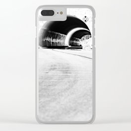 INTO THE MOUNTAIN Clear iPhone Case