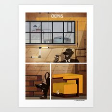09_archidesign_walter gropius Art Print