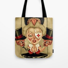 Hanging from Above Tote Bag