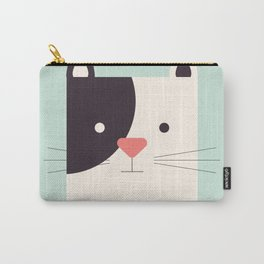 Cartoon Abstract Cat Carry-All Pouch