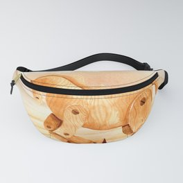 Wooden Horse Fanny Pack