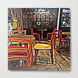Creativity Cafe Metal Print