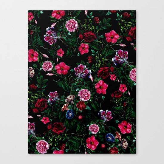 Botanical Garden VIII Canvas Print