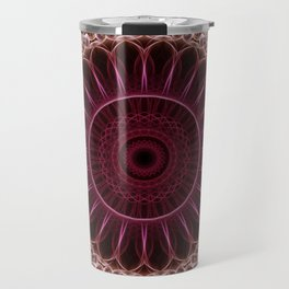 Ruby Mandala Travel Mug