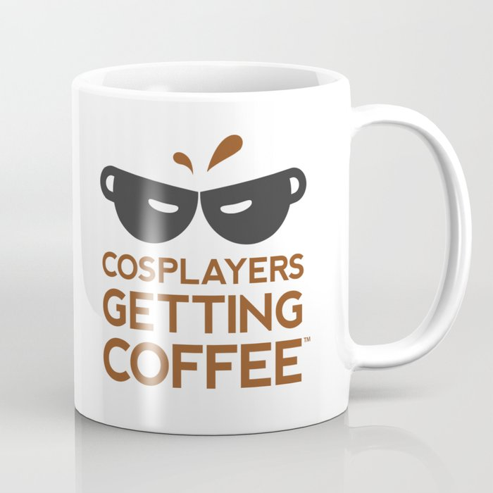 Cosplayers Getting Coffee Coffee Mug