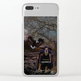 Nght Watcher Clear iPhone Case