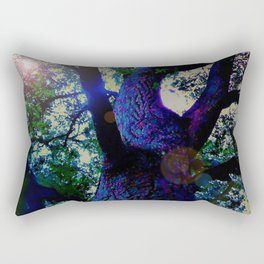 """A Conversation With Ents"" Rectangular Pillow"