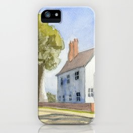 Lone Man Off to the Salt Mines iPhone Case