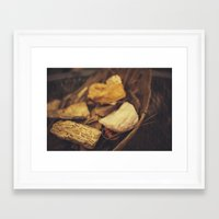 minerals Framed Art Prints featuring Minerals by Sarah Lyles