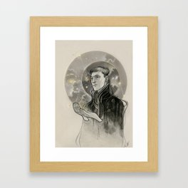 Galaxy Prince Framed Art Print