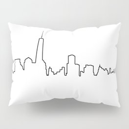 New York Life Line Pillow Sham