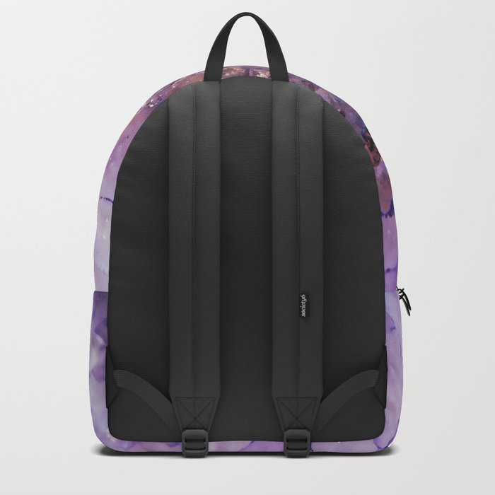 Amethyst Geode Backpack