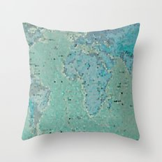 Let's Travel The World Throw Pillow