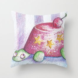Sweet Turtle Throw Pillow
