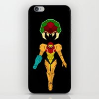 metroid iPhone & iPod Skins featuring Metroid by A Strom