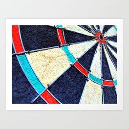 Dartboard Art Print