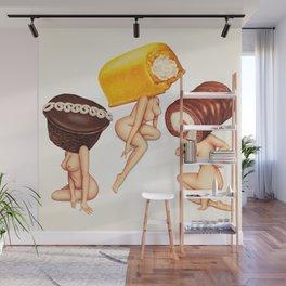 Hostess Cake Girls Wall Mural
