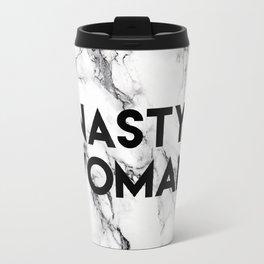 Nasty Woman (marble) Travel Mug