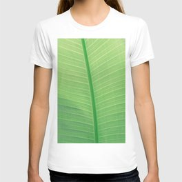 Tropical Green Leaf T-shirt