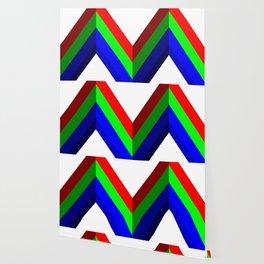 RGB Vector Shape Wallpaper