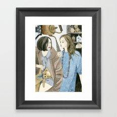 Just Between Us Girls Framed Art Print