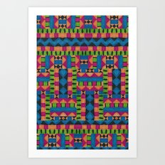 kiwi tribe Art Print