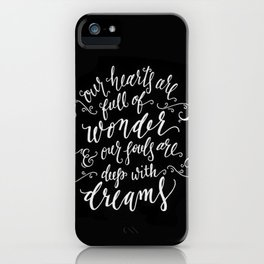 Wonder and Dreams iPhone Case