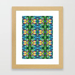 kaleidoscopic  Framed Art Print