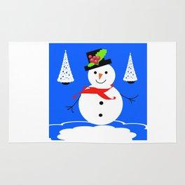 happy snowman Rug