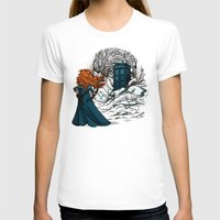 hallion T-shirts featuring Follow Your fate by Karen Hallion Illustrations