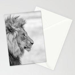 Chrome Lion King Stationery Cards