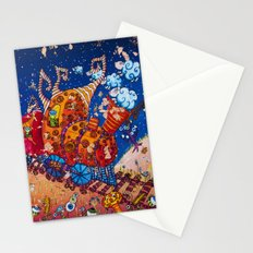 In the fronkey 's train Stationery Cards