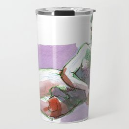 JOHN, Nude Male by Frank-Joseph Travel Mug