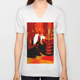 Cotton Club The Man Unisex V-Neck