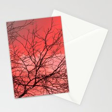 Branches in the Red Sky Stationery Cards