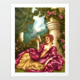 Fragonard Art Print