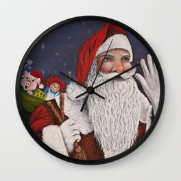 Merry Christmas To All Wall Clock