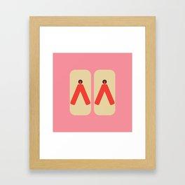 Japan Geta Framed Art Print