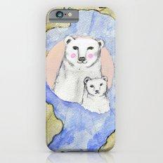 Polar Bear Portrait iPhone 6 Slim Case