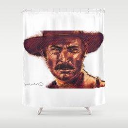 The Bad - Lee Van Cleef Shower Curtain