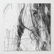 Horse (Portrait of a Racer) Canvas Print